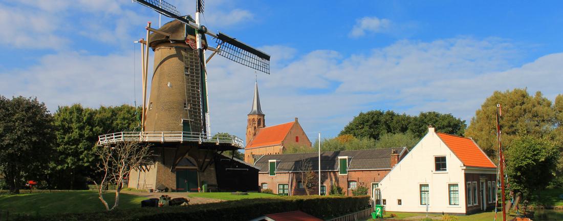 Langs de molen van Loosduinen